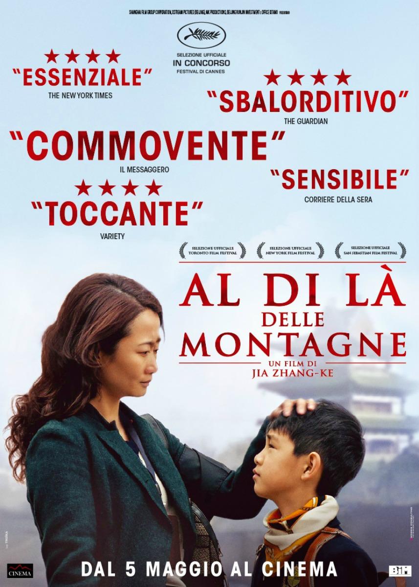 Locandina film Al di l� delle montagne