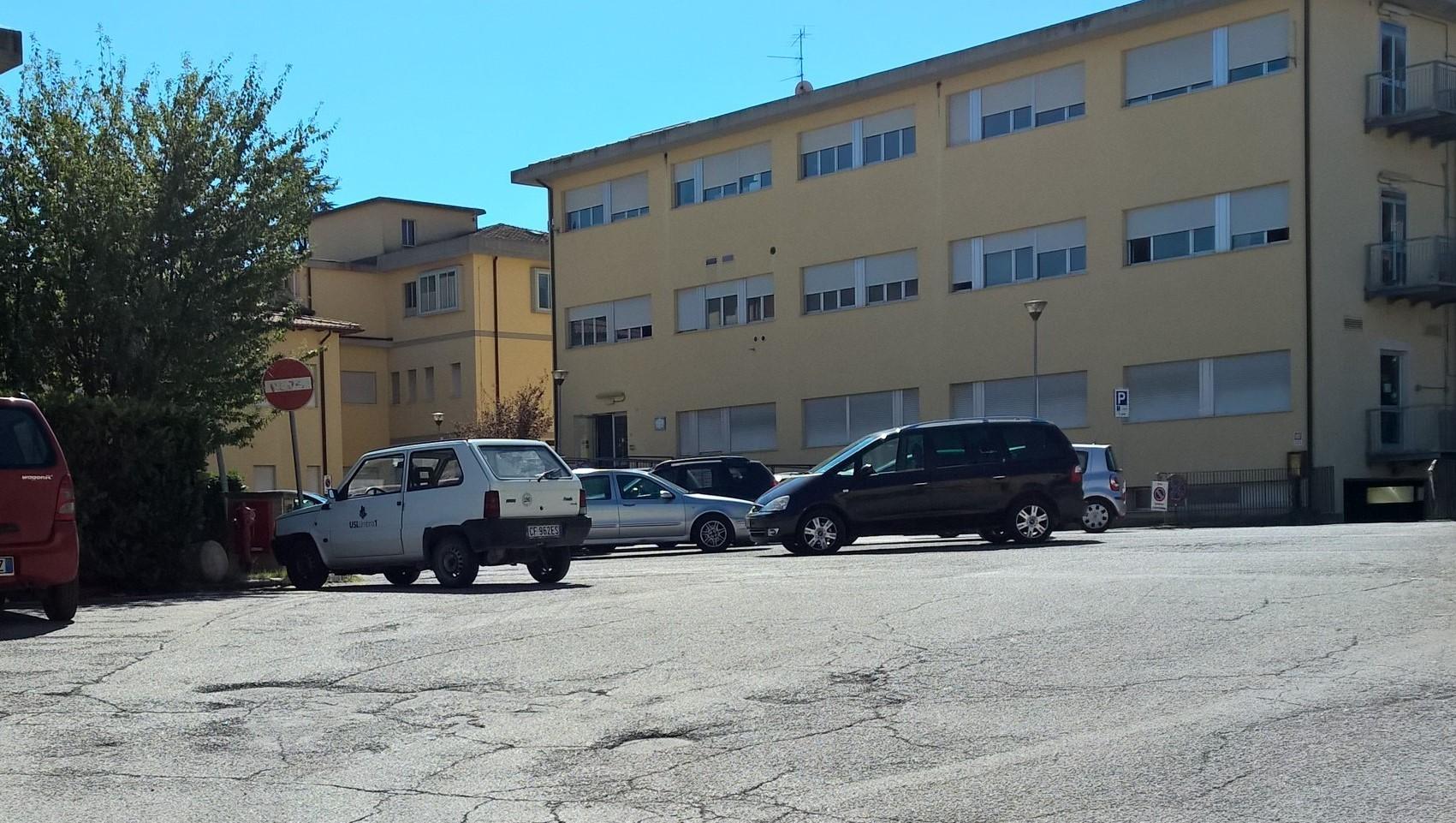 Parcheggio casa salute