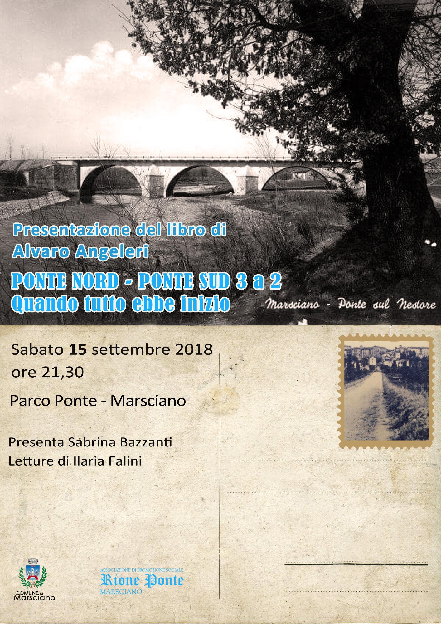 locandina libro sulla storia del rione ponte