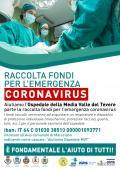 locandina raccoltafondi coronavirus
